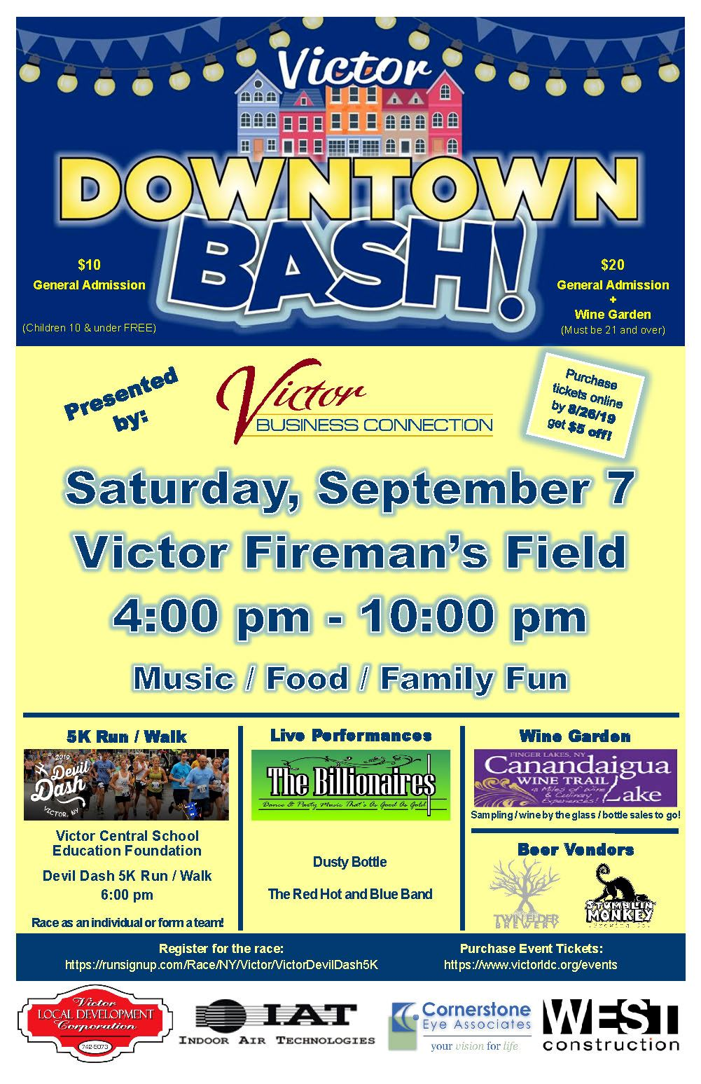 Downtown Bash Poster