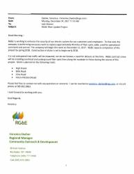 RGE Fiber Project Update